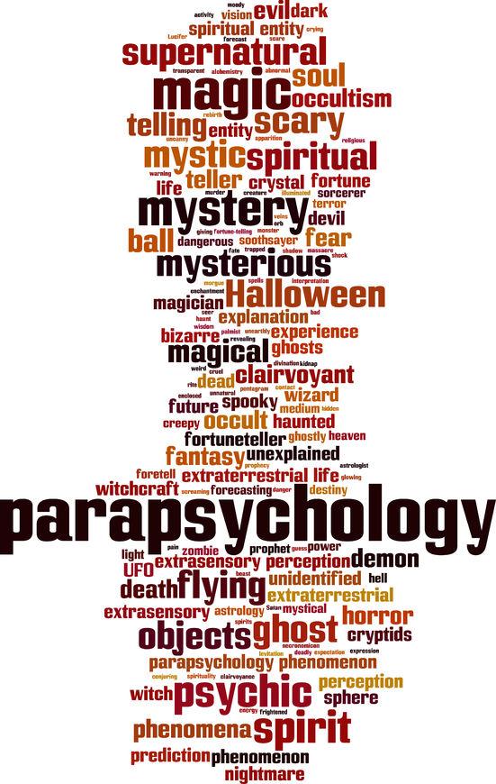 Paranormaal, parapsychologie